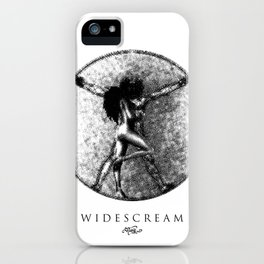 W I D E S C R E A M  iPhone Case