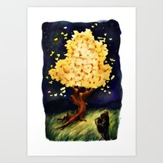 Our Tree Art Print