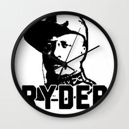 RUFF RYDER THEODORE ROOSEVELT T-SHIRT Wall Clock