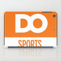 sports iPad Cases featuring DO Sports by The Daily Orange