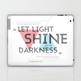 2 CORINTHIANS 4:5-6 Laptop & iPad Skin