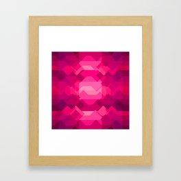 Gemstone - Ruby Framed Art Print