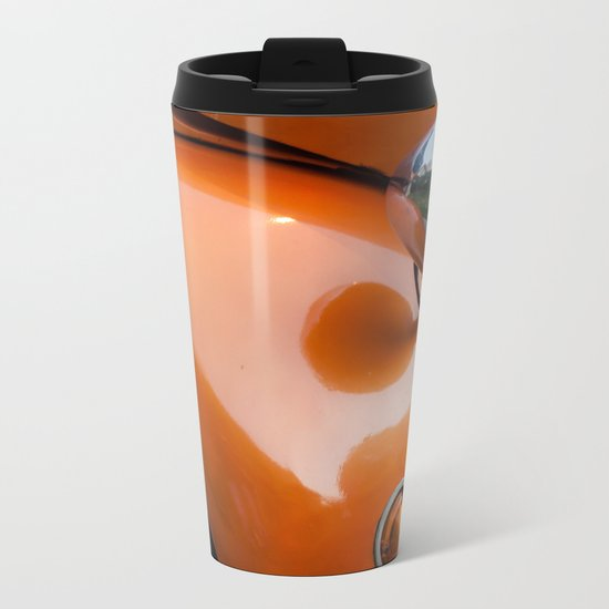 Retro Metal Travel Mug