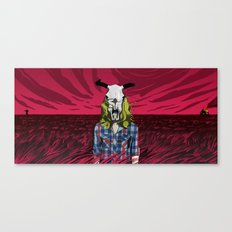 Cowgirl From Hell - Dark Canvas Print