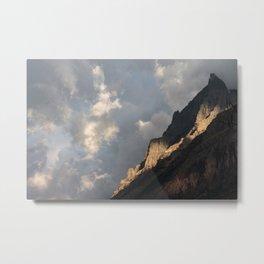Glacier National Park Sunrise Metal Print