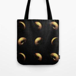 Planet apple triptychon IV Tote Bag