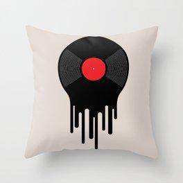 Liquid Sound Throw Pillow