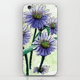 Alpine Aster iPhone Skin