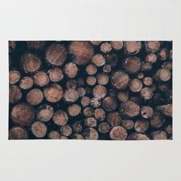 Fire Wood Rug