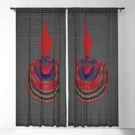 Shell Buddha - Nature Is Holy V2 Blackout Curtain