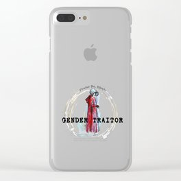 Gender Traitor - 1 Clear iPhone Case