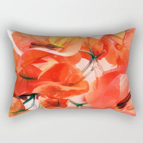 Sunny Bougainville. Rectangular Pillow