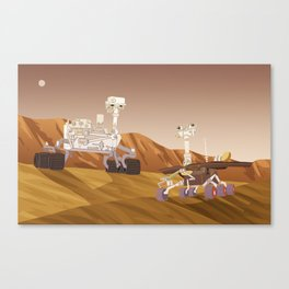 Curiosity and Opportunity Canvas Print