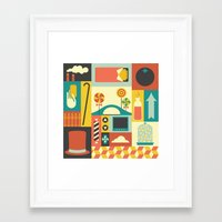 charlie Framed Art Prints featuring Charlie by Ariel Wilson