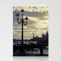 venice Stationery Cards featuring Venice. by Michelle McConnell