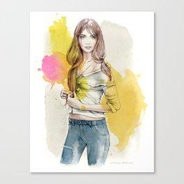 Brooke Canvas Print