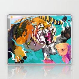 Hunting tiger Laptop & iPad Skin