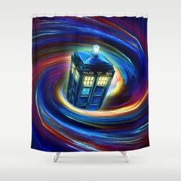 TIME VORTEX Shower Curtain