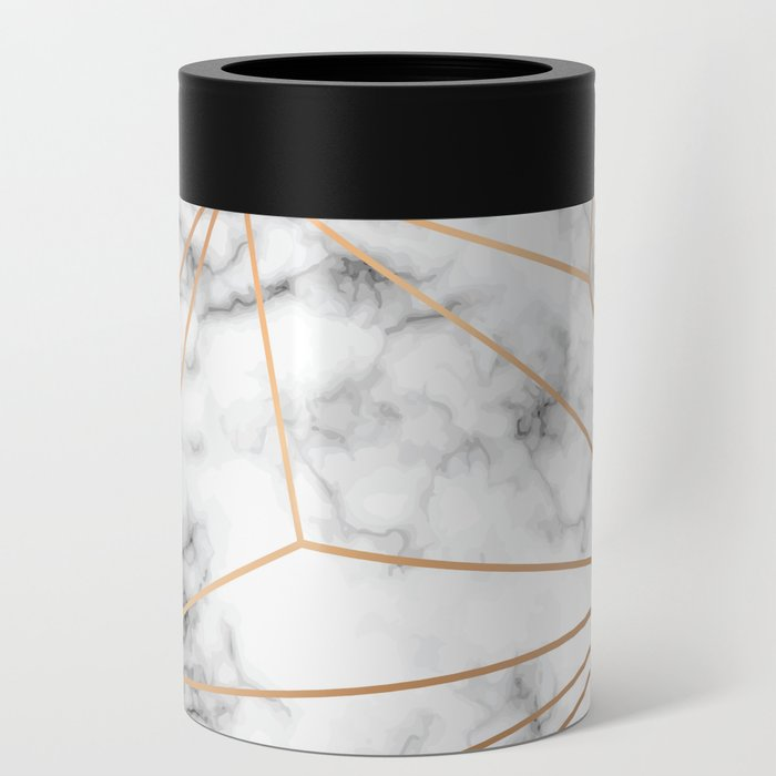 Marble & Gold 046 Can Cooler