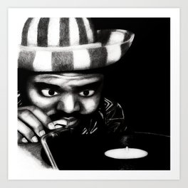 Reggae DJ Art Print