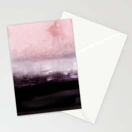 blush over purple Stationery Cards