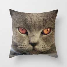 Tomcat Diesel Throw Pillow