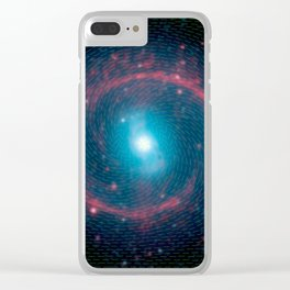 Ring of stellar fire Clear iPhone Case