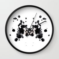 the xx Wall Clocks featuring XX by Andrea Eedes