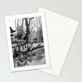 Central Park B/W Stationery Cards