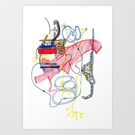 Sensory Systems 2 Art Print