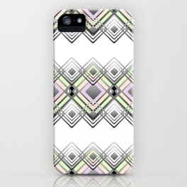 Geometric pattern. iPhone Case