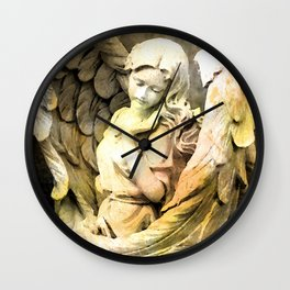 Angels We Have Heard On High Wall Clock