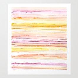 Cotton Candy Sunrise Art Print