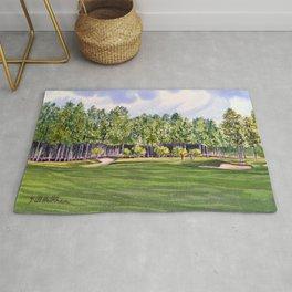 Pinehurst Golf Course No2 Hole 17 Rug