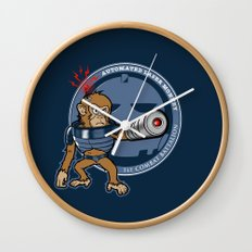 Automated Laser Monkey Wall Clock