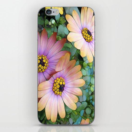 Glowing Gerbera's iPhone & iPod Skin