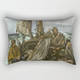 Manet - The Toilers of the Sea,1873 Rectangular Pillow
