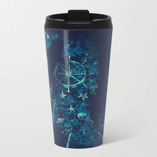 For all the Gold Under the Stars Metal Travel Mug