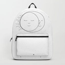 The Moon and Sun are One Backpack