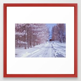 BABY IT'S COLD OUTSIDE II Framed Art Print
