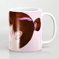 bubblegum Mugs featuring Bubblegum by ObeyMyBrain