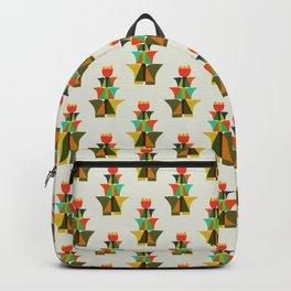Whimsical bromeliad Backpack