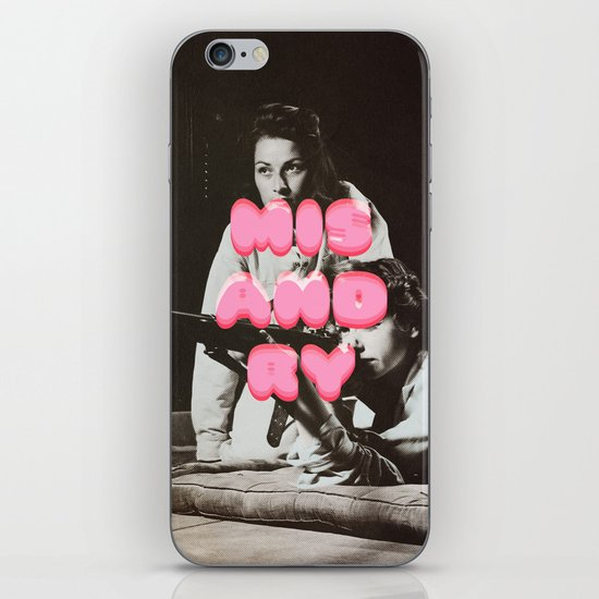 ♡ MISANDRY ♡ iPhone & iPod Skin