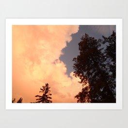 Skies After a Storm Art Print
