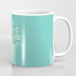 I Like Big Cups and I Cannot Lie Teal Coffee Mug