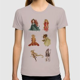 Chibi Goddesses T-shirt