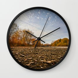 Low POV 3 Wall Clock