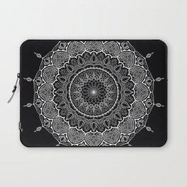 Mandala Black&White Laptop Sleeve