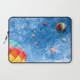 Acrylic Air Balloons Laptop Sleeve
