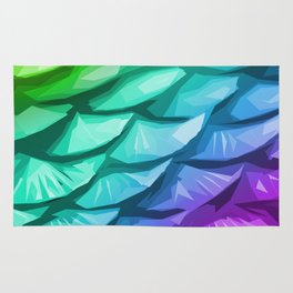 Mermaid Fish Tail Rug